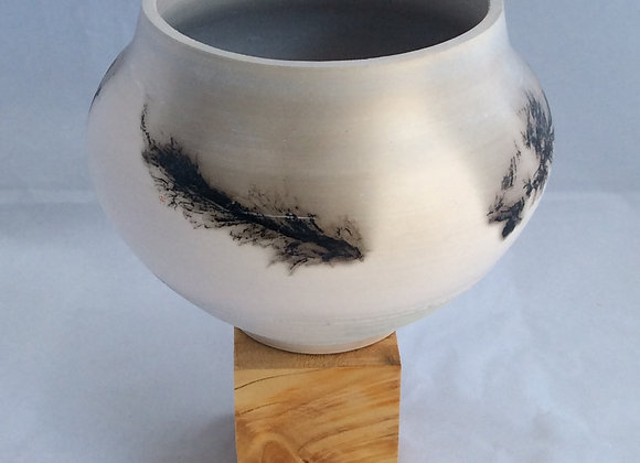 Feather & Horse Hair Vessel