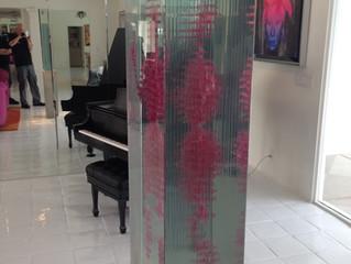 Glass Sculpture Installation