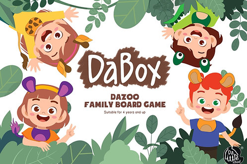 DaBox - DaZoo Family Board Game