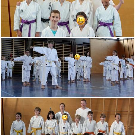 Ikigaido Karate Fällanden meistert Shitokai-Prüfungen!