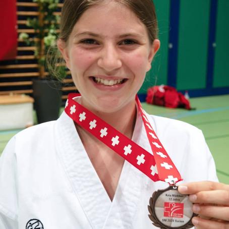 Fällanden holt Bronze an der Karate SM 2020