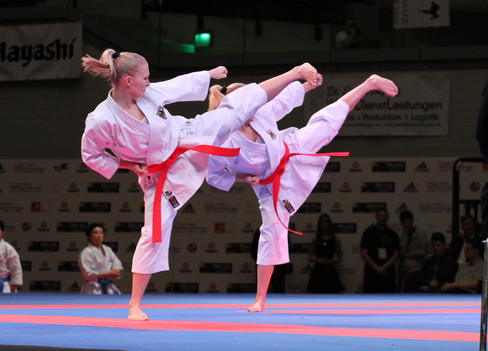 Wettkampf-Karate Ikigaido