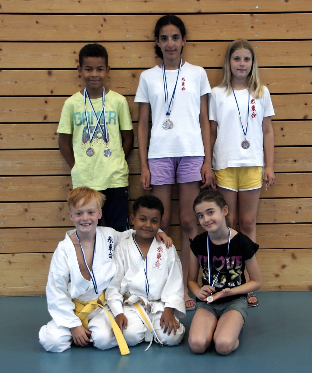 Medaillen-Regen an der Zürcher Kantonalmeisterschaft 2019