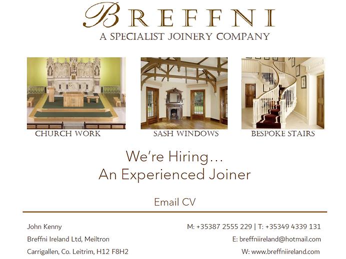 Breffni Ireland Job advert for web.PNG