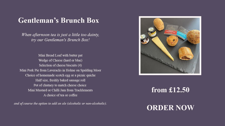 Gentleman's Brunch Box