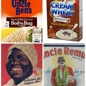 BLACK FACES ON PRODUCTS DURING JIM CROW ERA