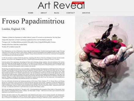 Art Reveal Magazine Interview