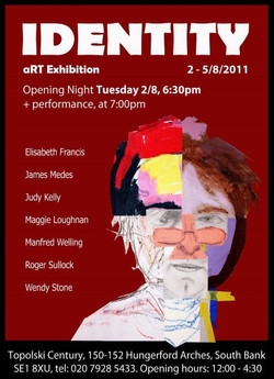 press material art exhibition_identity