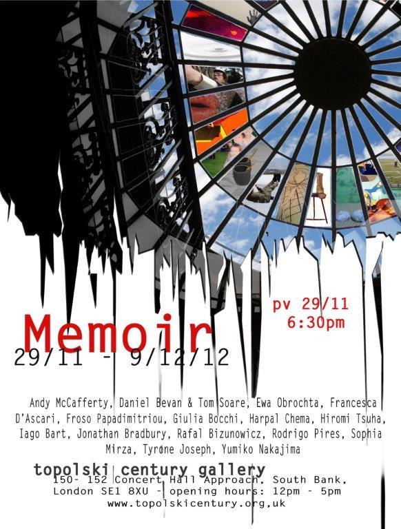 press material art exhibition_memoir