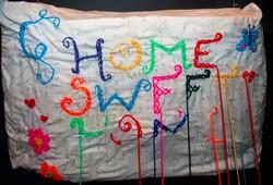 home sweet home series detail pilow