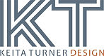 KEITA TURNER DESIGN SOLID KT COLOR LOGO.