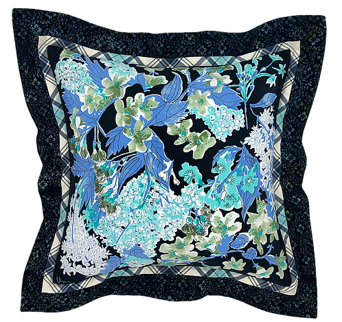"Midnight Garden Vera 24"" Pillow"
