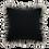 "Thumbnail: Black Tie Ruffle 20"" Pillow"