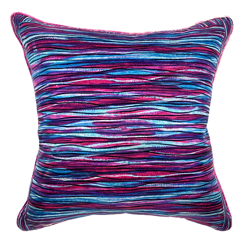 "Purple Liberty 24"" Pillow"