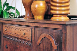 Detail of Credenza (Antique Buffet) 076_