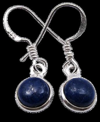 Lapis Lazuli Earrings Royal Blue
