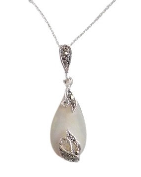 M&S Necklace Mother of Pearl