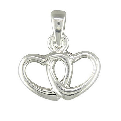 Sterling Hearts Necklace