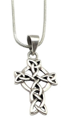 Sterling Celtic Cross and Chain
