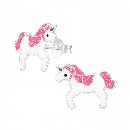Glittery Unicorn Studs