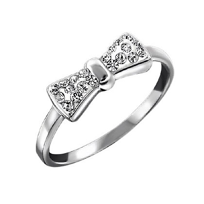 Assayed Silver Ring Bow