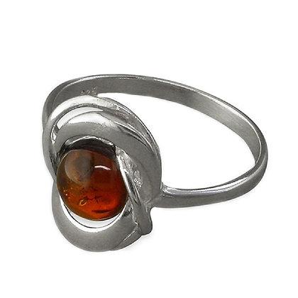 Assayed Amber Ring