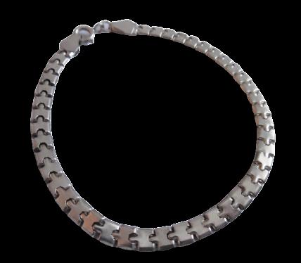 Sterling Silver Plain Bracelet