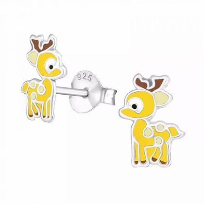 Sterling Bambi Earrings
