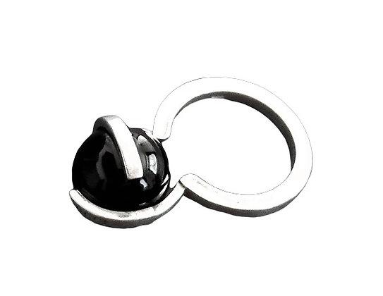 Gucci Ring Black Onyx Boule