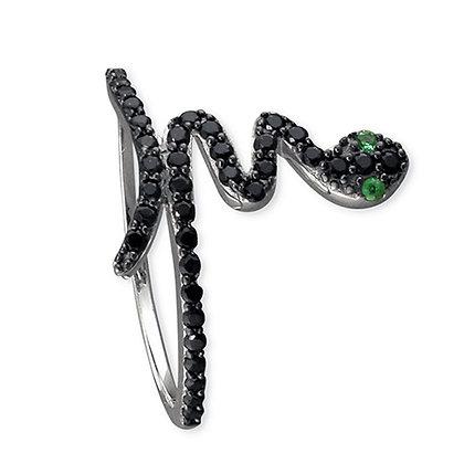 Assayed Snake Ring