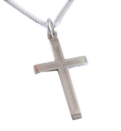Vintage Silver Cross and Chain