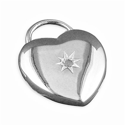 Real Diamond Heart Necklace