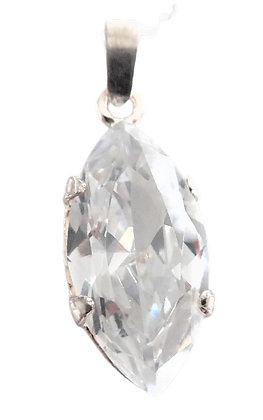 Assayed  Silver Jewel Necklace