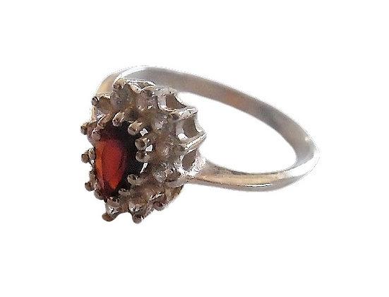 Assayed Vintage Red Ring