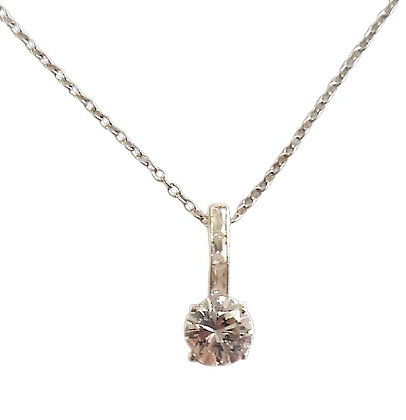 Sterling Silver Cocktail Necklace