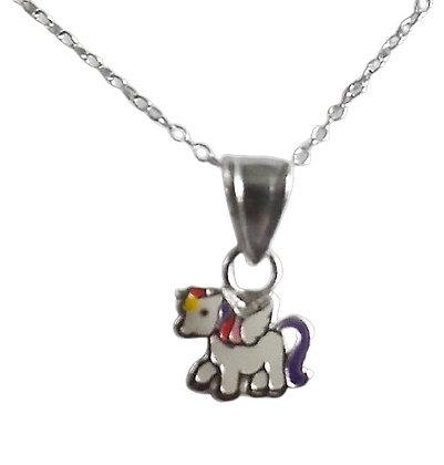 Silver Unicorn Necklace