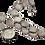 Thumbnail: Victorian Albert Coin Chain With Fob 1 oz +