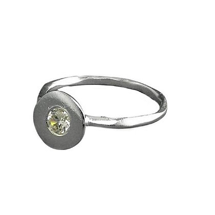 Assayed Silver Arts and Crafts Ring