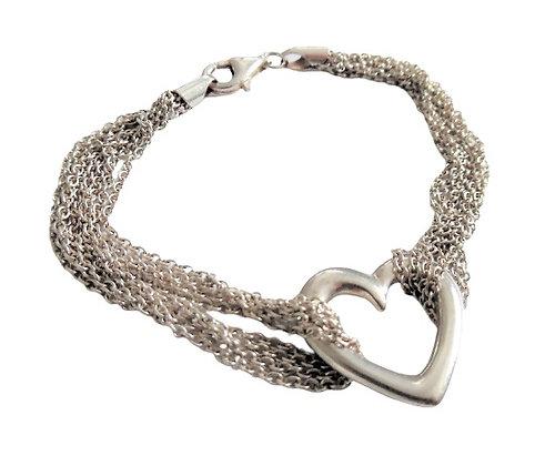 Assayed Heart Bracelet
