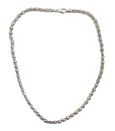 Hallmarked Silver Necklace Disco Balls