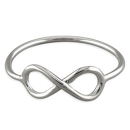 Assayed Infinity Ring