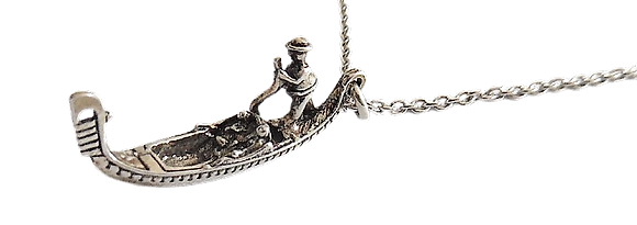 Silver Gondola Necklace