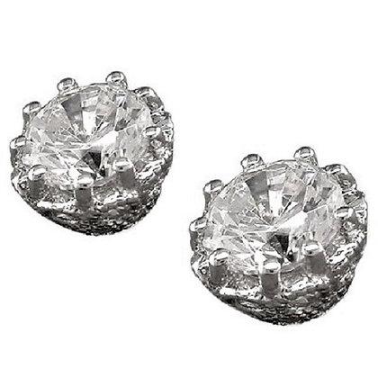 Sterling Silver Jewel Studs