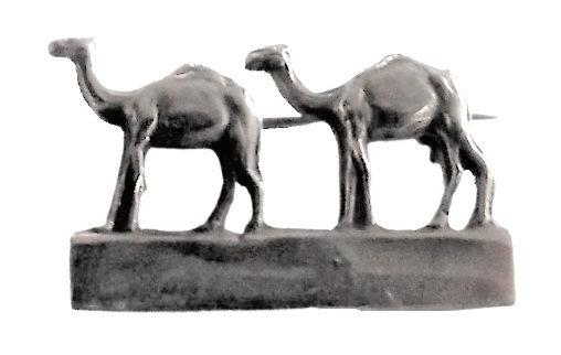 Sterling Silver Camel Brooch