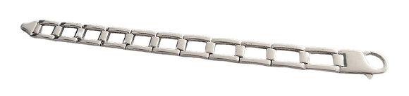 Heavy Vintage Real Silver Bracelet