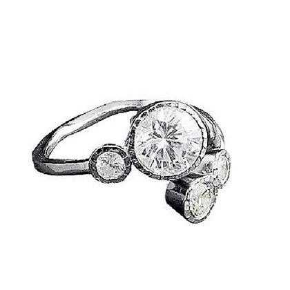 Assayed Silver Arts & Crafts Ring