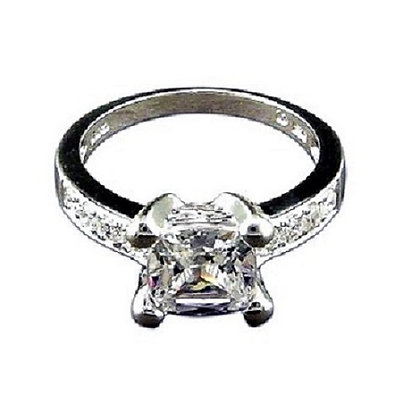 Assayed Square Ring
