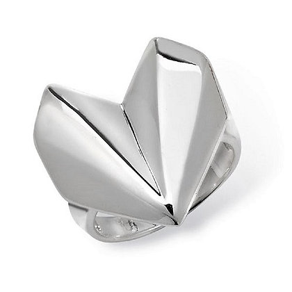 Assayed Silver Art Deco Ring