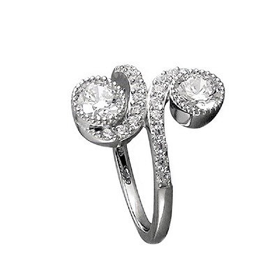 Assayed Cocktail Ring