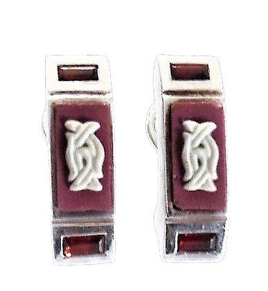 Stephen Webster Assayed Designer Earrings